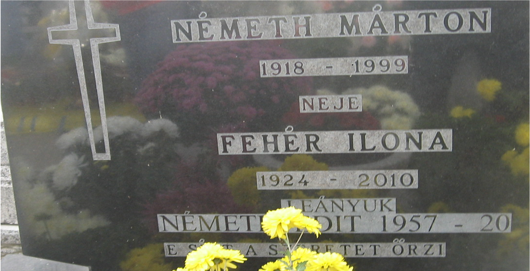 Szüleim sírja, veszprémvarsányi temető